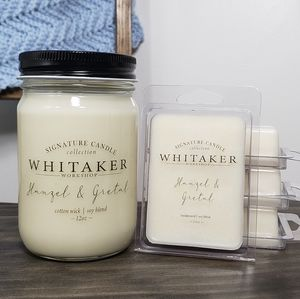 Hanzel and Gretal candle and wax melt